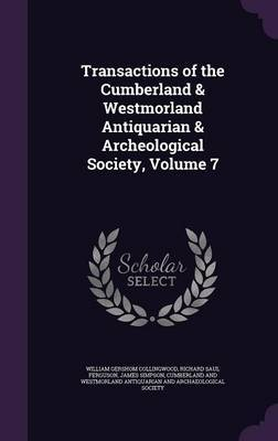 Transactions of the Cumberland & Westmorland Antiquarian & Archeological Society, Volume 7 by William Gershom Collingwood image