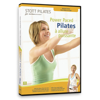 Stott Pilates: Power Paced Pilates on DVD