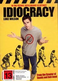 Idiocracy on DVD image