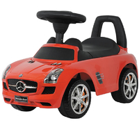 Toyrific: Foot to Floor Ride On - SLS Mecedes Red