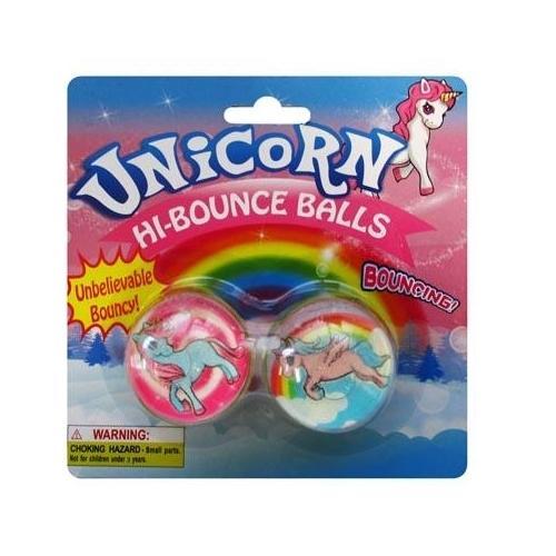 Unicorn Bouncing Ball - 2pc