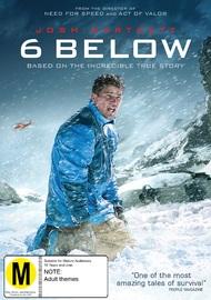 6 Below on DVD