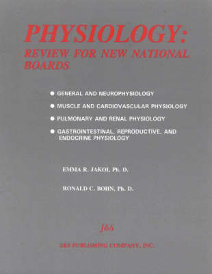 Physiology by Ronald C. Bohn