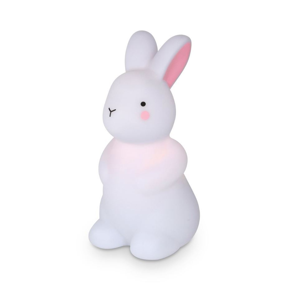 Rechargable Night Light - White Bunny image