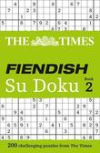 The Times Fiendish Su Doku Book 2 by The Times Mind Games