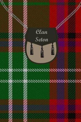 Clan Seton Tartan Journal/Notebook by Clan Seton