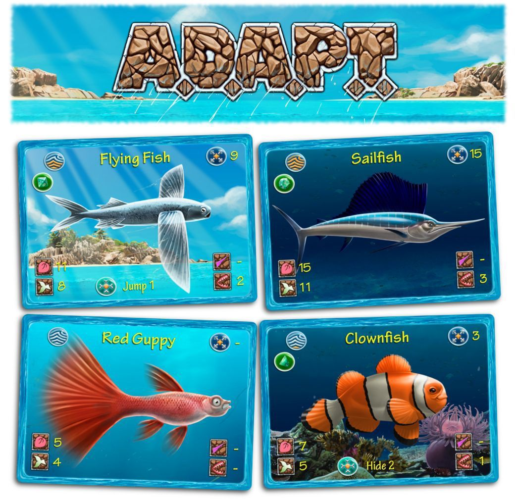 A.D.A.P.T - Board Game image