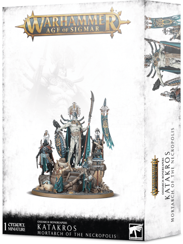 Warhammer Age of Sigmar: Katakros Mortarch Of The Necropolis