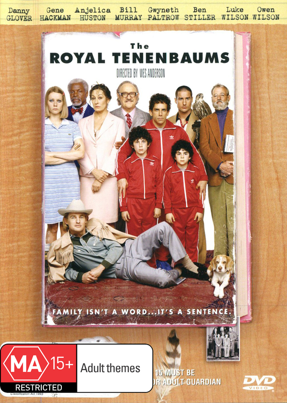 The Royal Tenenbaums on DVD