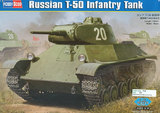 1/35 Russian T-50 Infantry Tank Model Kit