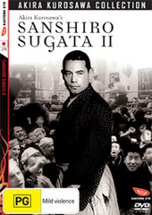 Sanshiro Sugata 2 on DVD