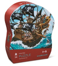 Crocodile Creek: Pirates Jigsaw Puzzle - 24pc