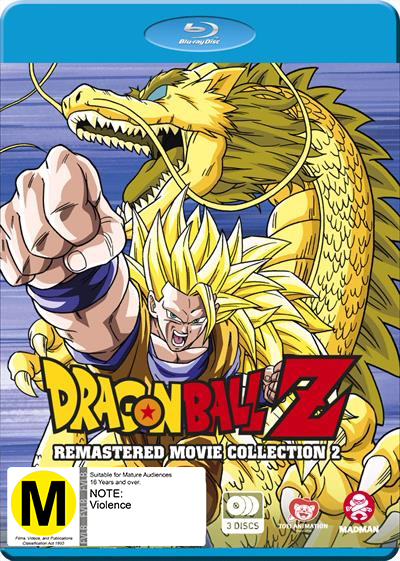 Dragon Ball Z: Remastered Movie Collection 2 (uncut) (movies 7-13) on Blu-ray image