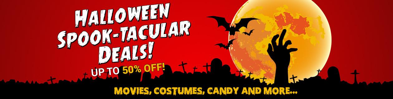 Halloween Spook-tacular Deals on now!