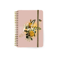 Papaya: Small Notebook - Yellow Roses