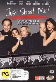Just Shoot Me! - Complete Season's 1 & 2 (4 Disc Set) on DVD image