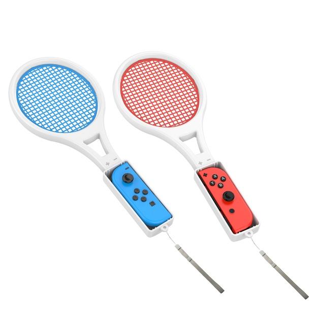 Powerwave Nintendo Switch Joy Con Tennis Racquet Twin Pack for Nintendo Switch
