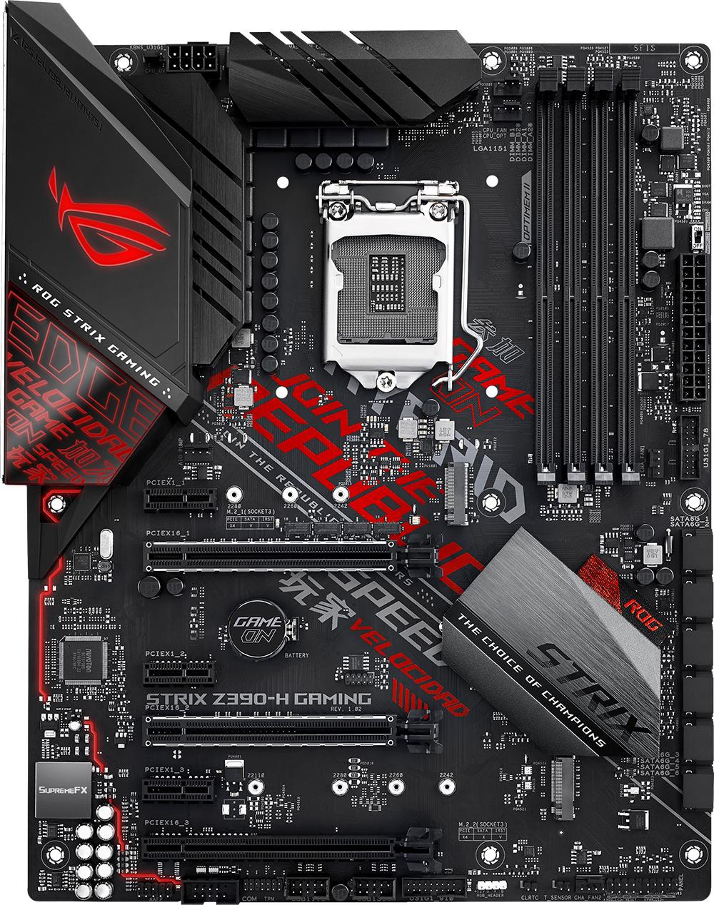 ASUS ROG Strix Z390-H Gaming Motherboard image