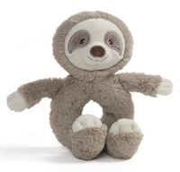 Gund: Toothpick Sloth - Ring Rattle