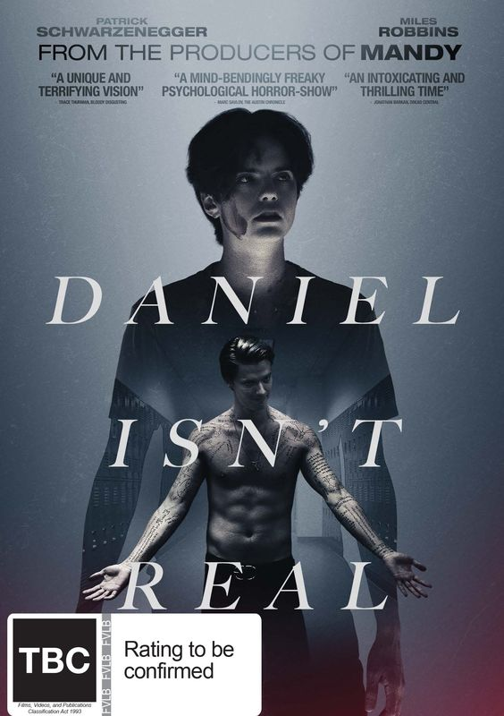 Daniel Isn't Real on DVD
