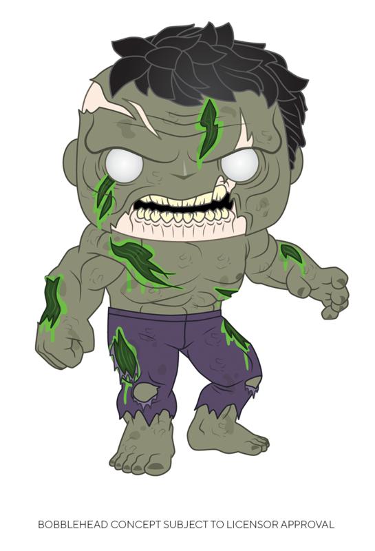 Marvel Zombies - Hulk Pop! Vinyl Figure