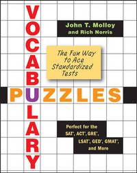Vocabulary Puzzles: The Fun Way to Ace Standardized Tests by John T Molloy image
