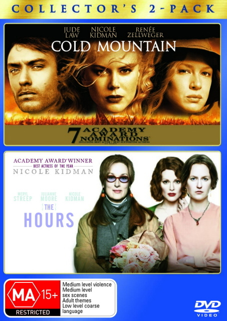 Cold Mountain / Hours, The (2 Disc Set) on DVD
