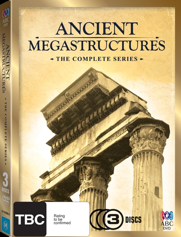 Ancient Megastructures: The Complete Series (3 Disc Box Set) on DVD