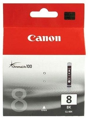 Canon Ink Cartridge - CLI8BK (Black)