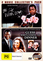 To Sir, With Love / Guess Who's Coming To Dinner - 2 Movie Collector's Pack (2 Disc Set) on DVD