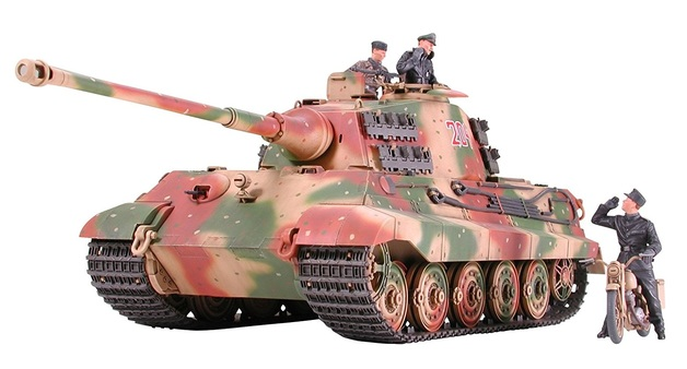 Tamiya 1/35 King Tiger Ardennes Front - Model Kit