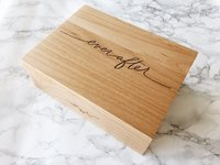 Cardtorial Wood Box - Ever After image