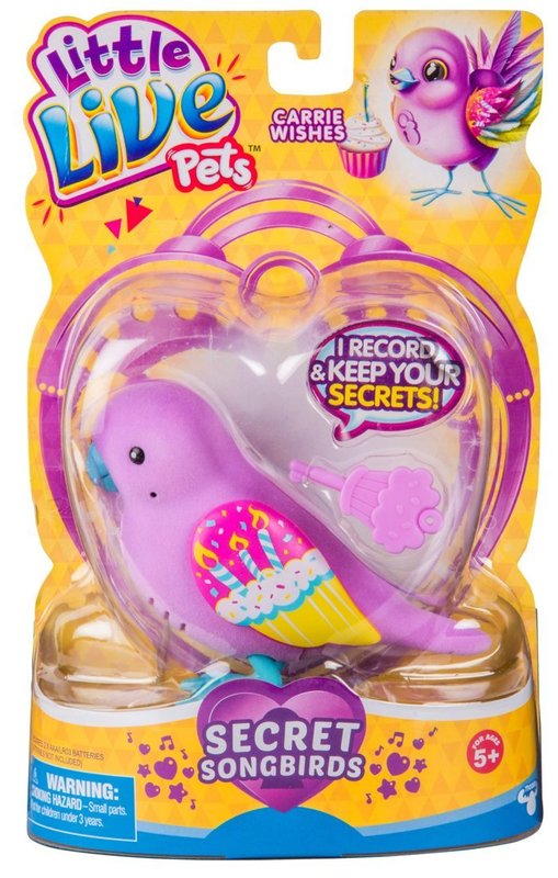 Little Live Pets: Secret Songbird - Carrie Wishes