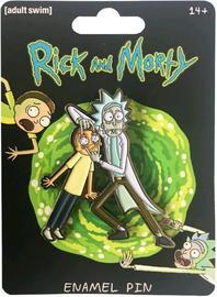 Rick & Morty - Rick & Morty Enamel Pin