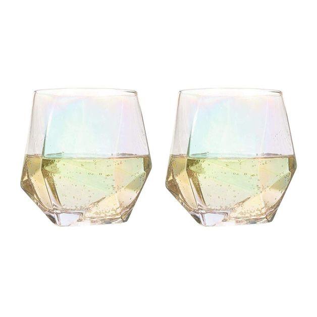Bar Bespoke Diamond Glasses (2pk)