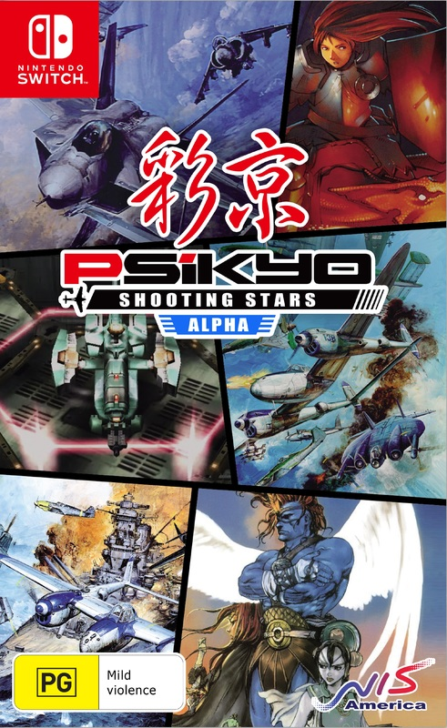 Psikyo Shooting Stars Alpha Limited Edition for Switch