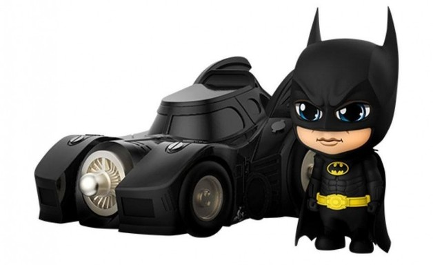 Batman (1989): Batman (with Batmobile) - Cosbaby Set