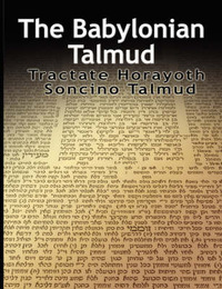 The Babylonian Talmud by Isidore Epstein