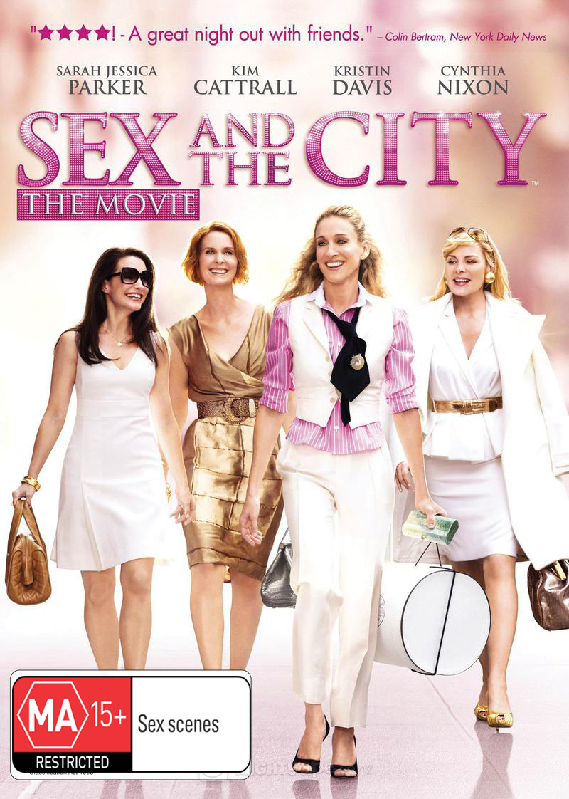 Sex and the City: The Movie on DVD image