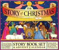 The Story of Christmas - Story Book Advent Calendar by Mary Packard