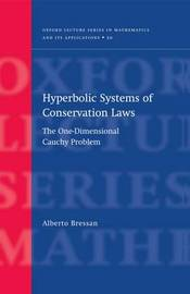 Hyperbolic Systems of Conservation Laws by Alberto Bressan image