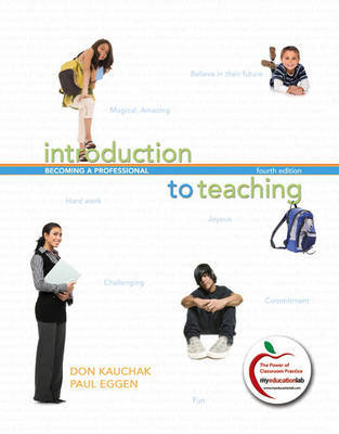 Introduction to Teaching: Becoming a Professional by Donald P. Kauchak image