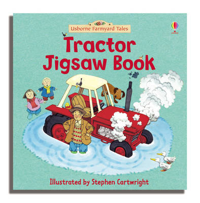 Tractor Jigsaw Book by Heather Amery