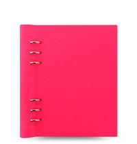 Filofax - A5 Saffiano Clipbook - Fluoro Pink