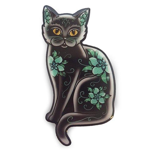 Jubly-Umph Midnight Tomcat Brooch