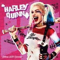 Harley Quinn 2019 Square Wall Calendar