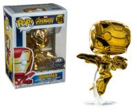 Avengers: Infinity War - Iron Man (Gold Chrome) Pop! Vinyl Figure image