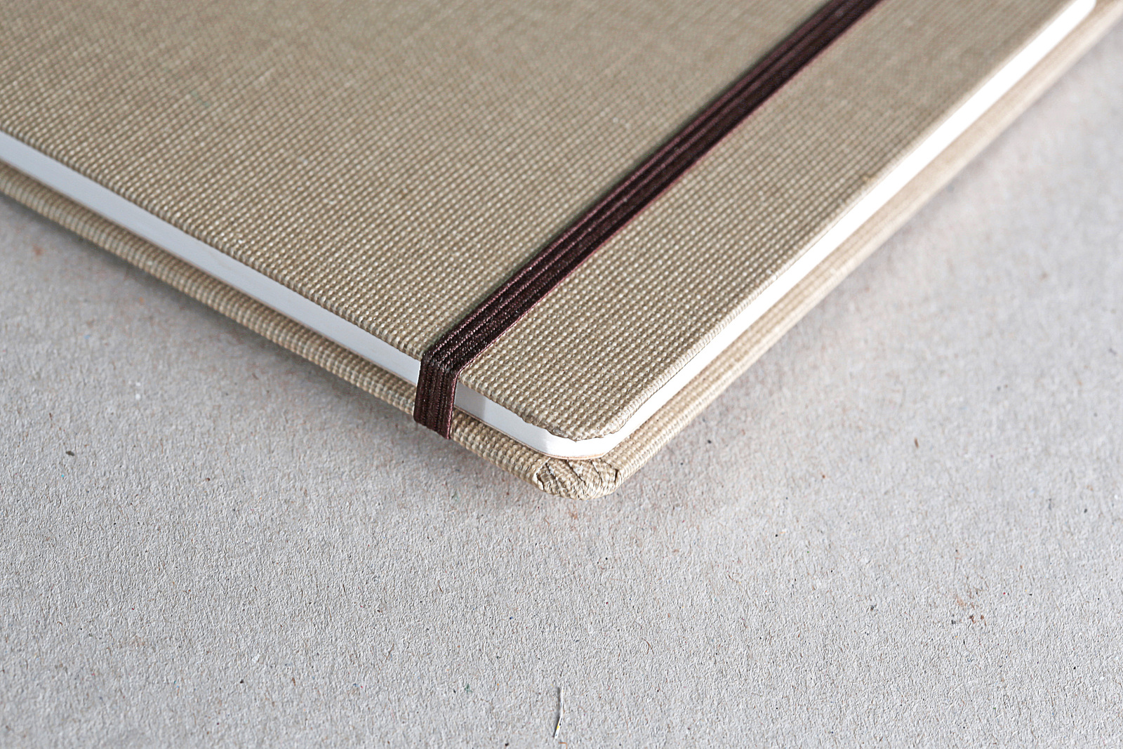 Clairefontaine: Goldline A5 Travel Album - Canvas Cover image