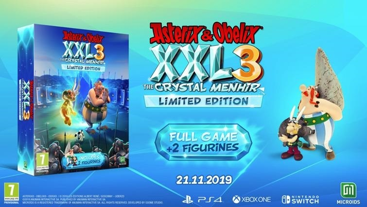 Asterix and Obelix XXL3 The Crystal Menhir Limited Edition for PS4 image