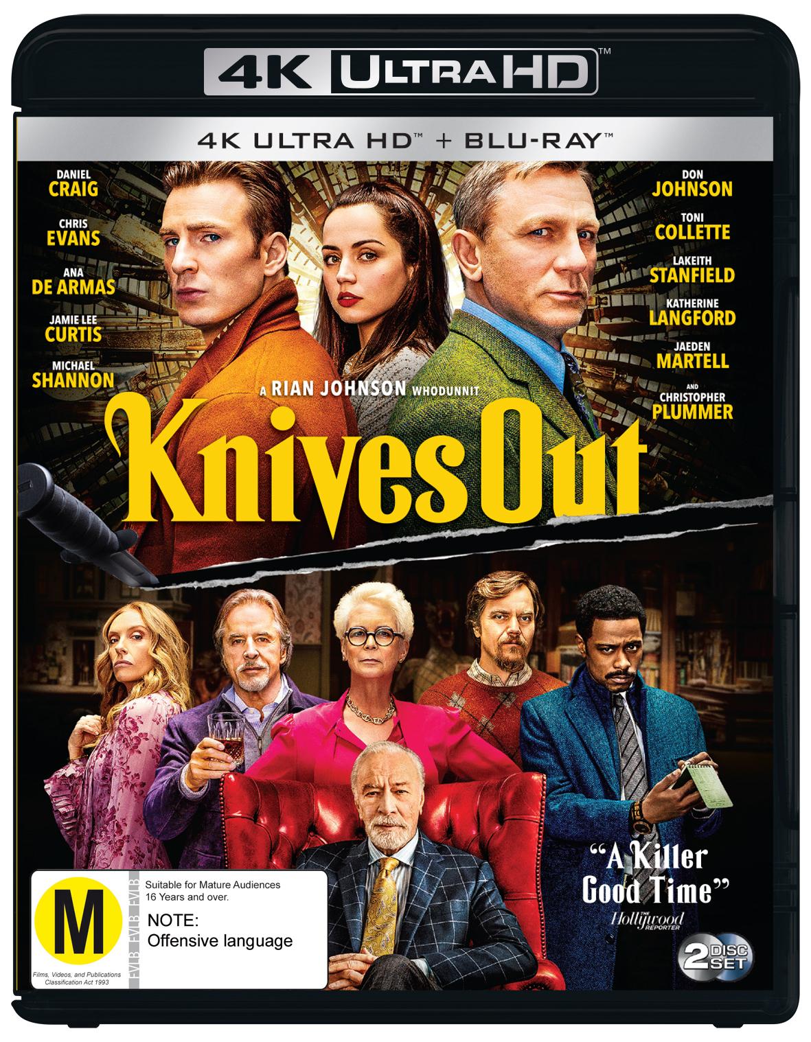 Knives Out (4K UHD + Blu-ray) on UHD Blu-ray image